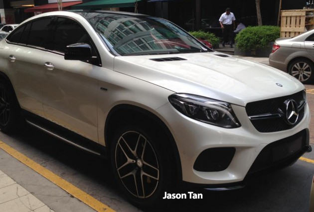 mercedes-benz gle 450 amg coupe at publika