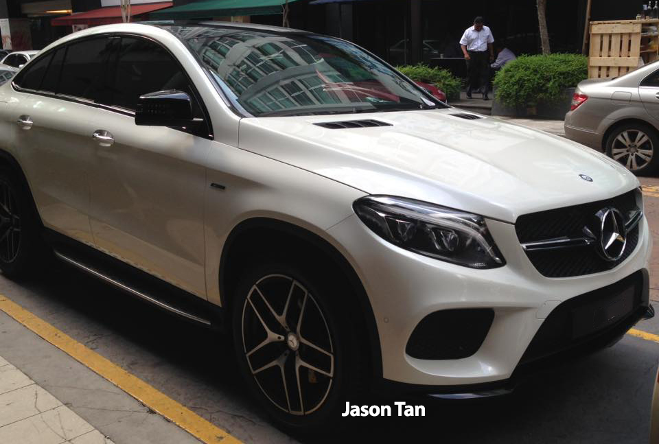Mercedes benz gle 450 amg coupe at publika for Mercedes benz gle 450