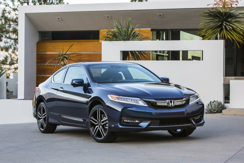 2016 Honda Accord facelift – sedan and coupe models fully revealed in new mega gallery Image #366147