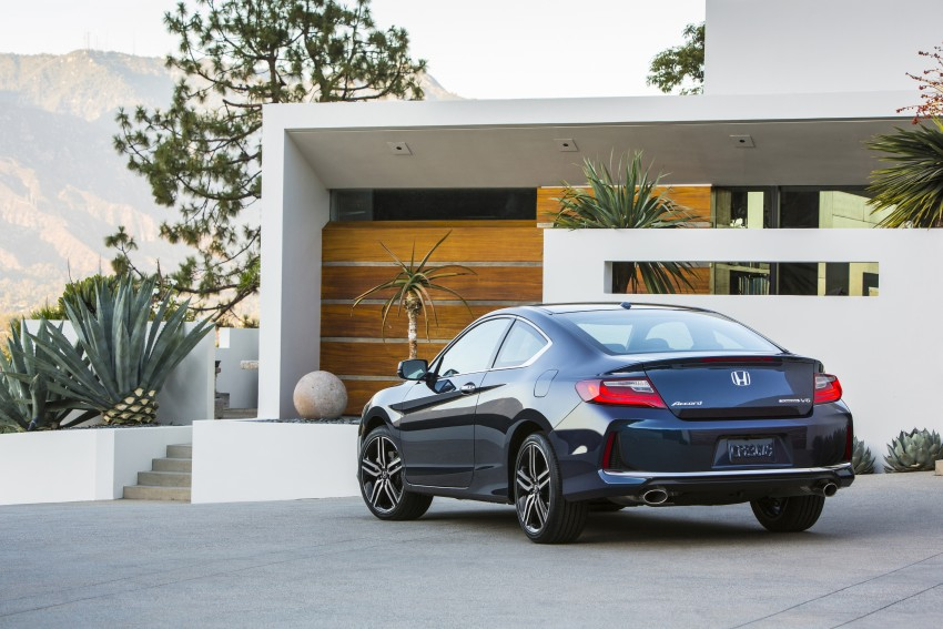 2016 Honda Accord facelift – sedan and coupe models fully revealed in new mega gallery Image #366148
