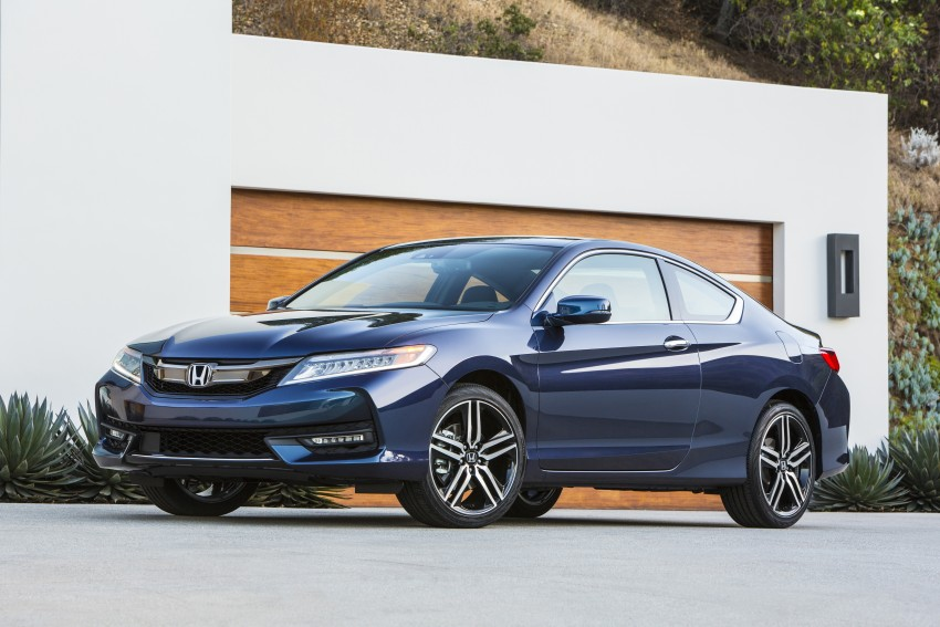 2016 Honda Accord facelift – sedan and coupe models fully revealed in new mega gallery Image #366151
