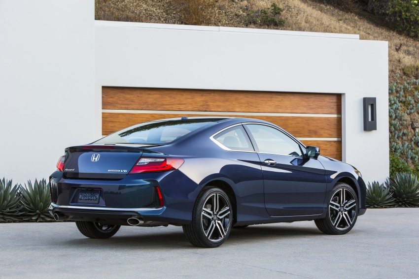 2016 Honda Accord facelift – sedan and coupe models fully revealed in new mega gallery Image #366152