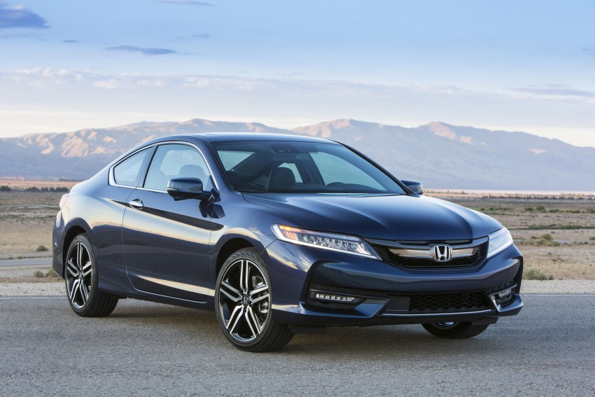 2016 Honda Accord facelift – sedan and coupe models fully revealed in new mega gallery Image #366153