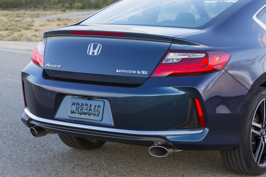 2016 Honda Accord facelift – sedan and coupe models fully revealed in new mega gallery Image #366156