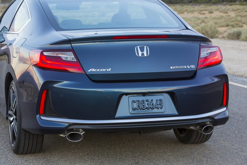 2016 Honda Accord facelift – sedan and coupe models fully revealed in new mega gallery Image #366158
