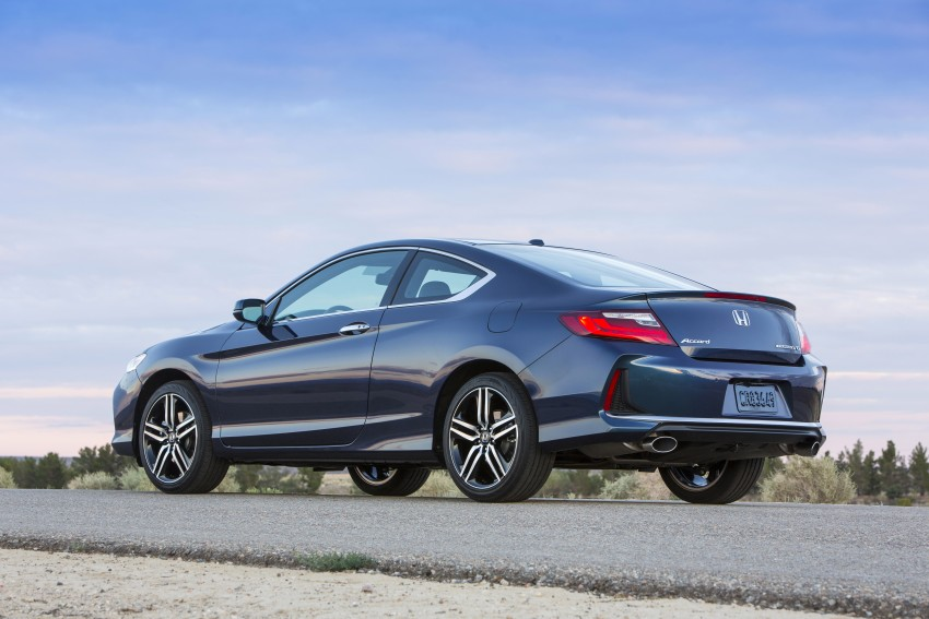 2016 Honda Accord facelift – sedan and coupe models fully revealed in new mega gallery Image #366159