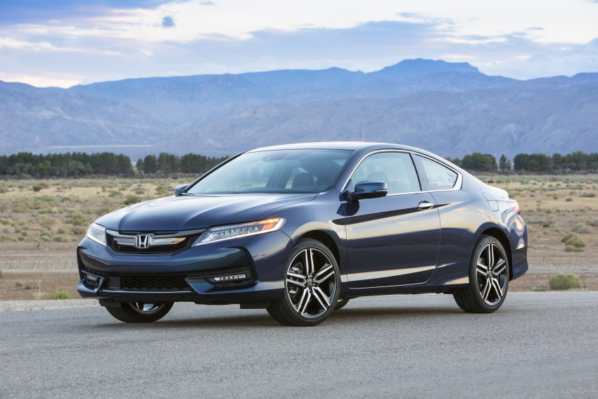 2016 Honda Accord facelift – sedan and coupe models fully revealed in new mega gallery Image #366160