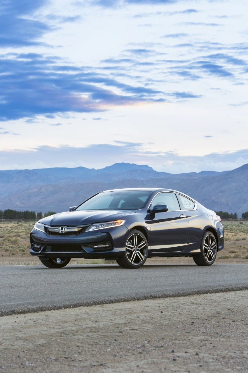 2016 Honda Accord facelift – sedan and coupe models fully revealed in new mega gallery Image #366161