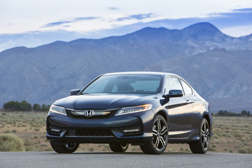 2016 Honda Accord facelift – sedan and coupe models fully revealed in new mega gallery Image #366163