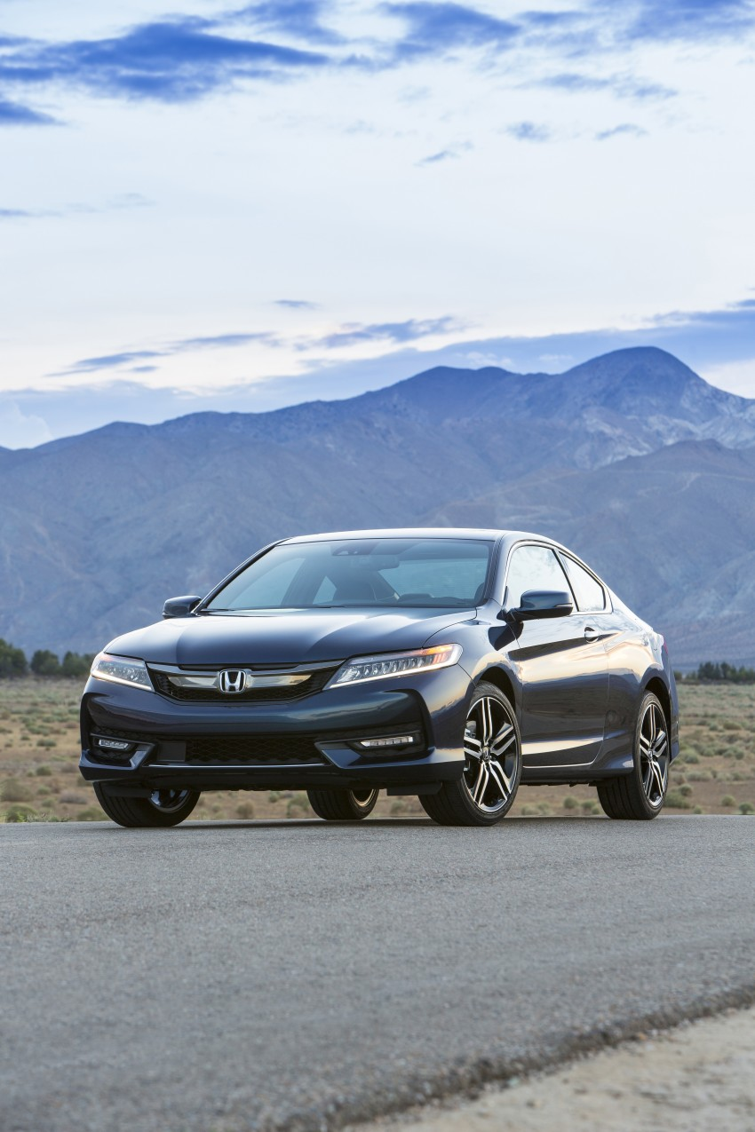 2016 Honda Accord facelift – sedan and coupe models fully revealed in new mega gallery Image #366164