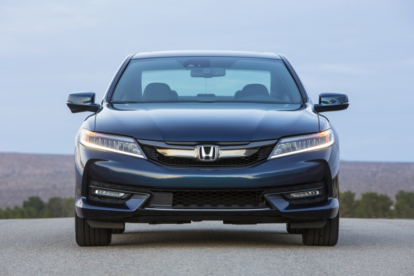 2016 Honda Accord facelift – sedan and coupe models fully revealed in new mega gallery Image #366165