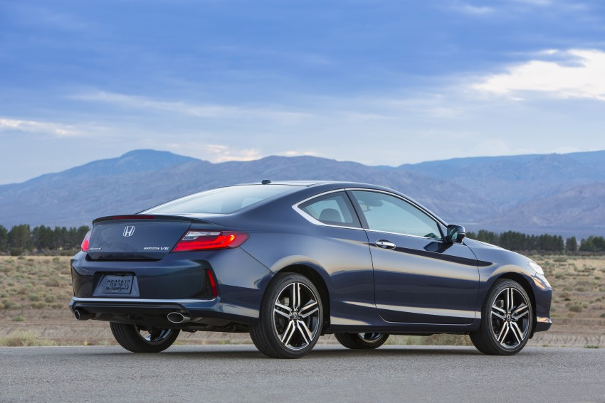 2016 Honda Accord facelift – sedan and coupe models fully revealed in new mega gallery Image #366168