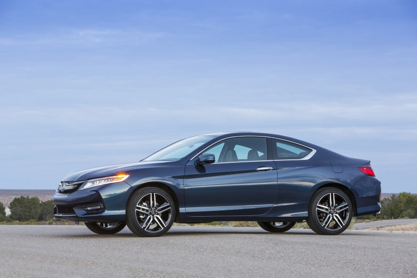 2016 Honda Accord facelift – sedan and coupe models fully revealed in new mega gallery Image #366170