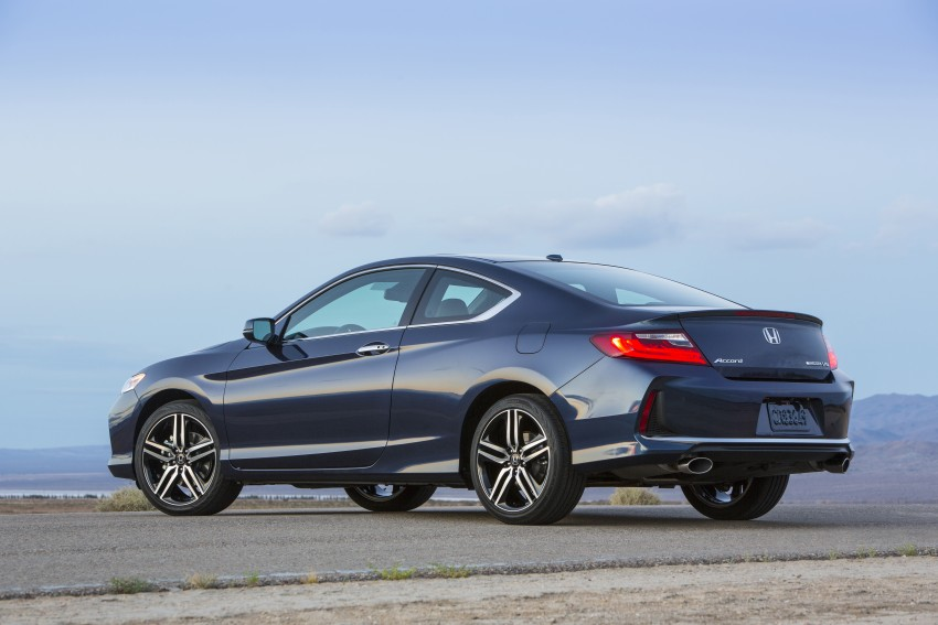 2016 Honda Accord facelift – sedan and coupe models fully revealed in new mega gallery Image #366172