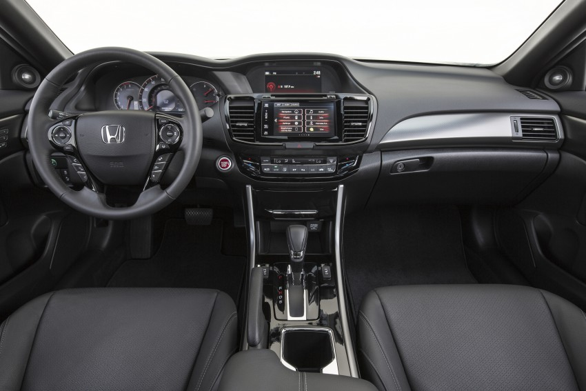2016 Honda Accord facelift – sedan and coupe models fully revealed in new mega gallery Image #366184