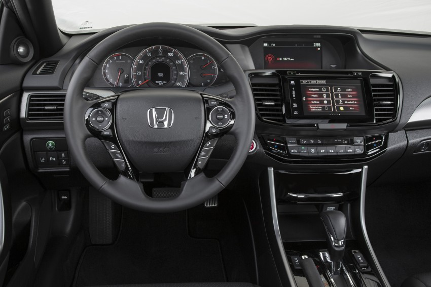 2016 Honda Accord facelift – sedan and coupe models fully revealed in new mega gallery Image #366185
