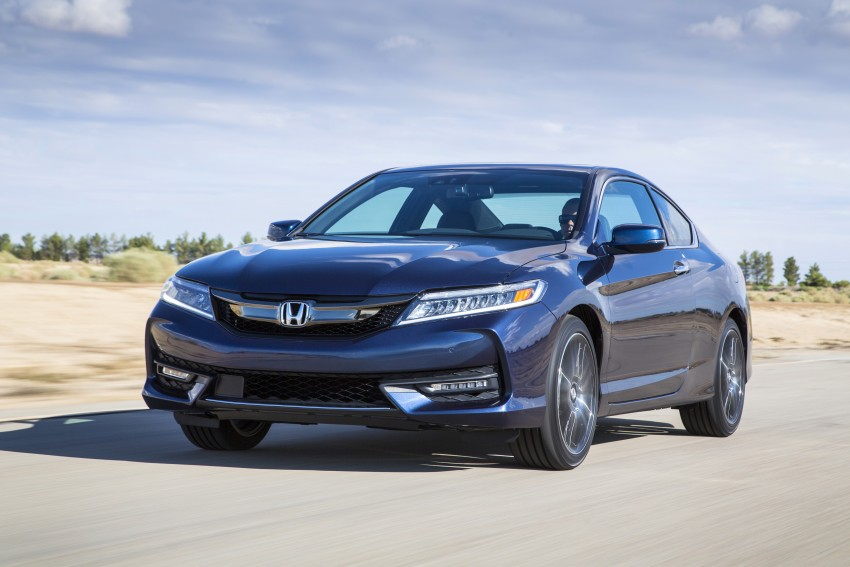 2016 Honda Accord facelift – sedan and coupe models fully revealed in new mega gallery Image #366192