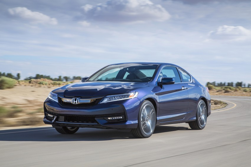 2016 Honda Accord facelift – sedan and coupe models fully revealed in new mega gallery Image #366193