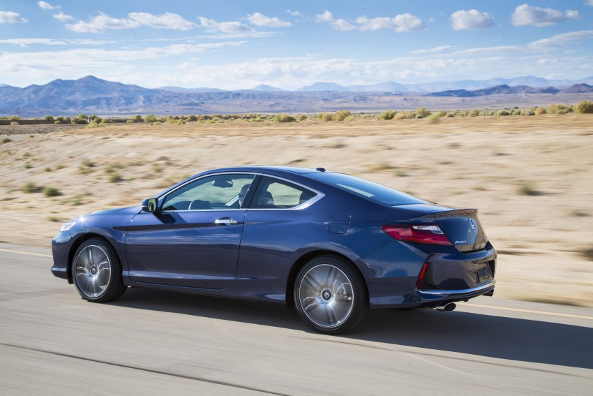 2016 Honda Accord facelift – sedan and coupe models fully revealed in new mega gallery Image #366194