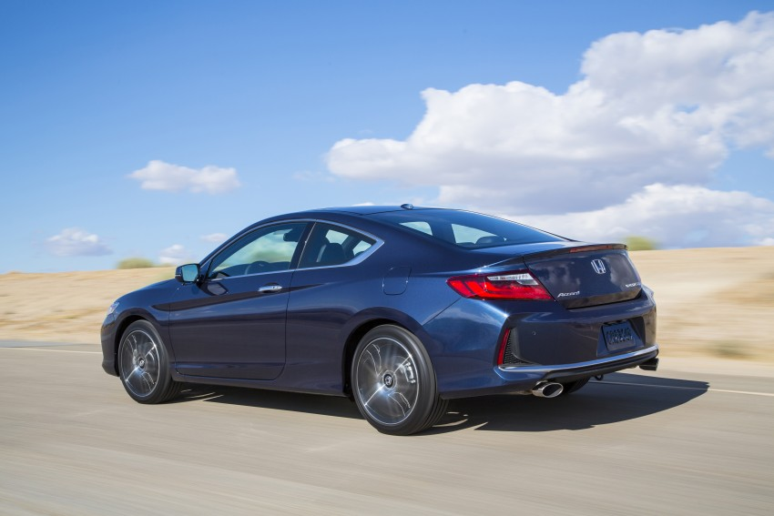 2016 Honda Accord facelift – sedan and coupe models fully revealed in new mega gallery Image #366195