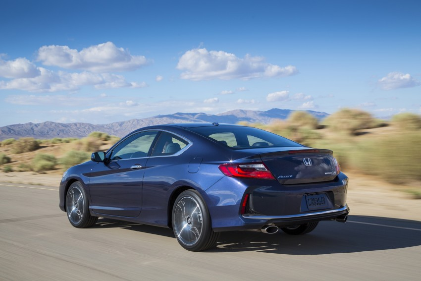 2016 Honda Accord facelift – sedan and coupe models fully revealed in new mega gallery Image #366196