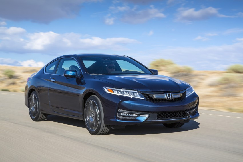 2016 Honda Accord facelift – sedan and coupe models fully revealed in new mega gallery Image #366197