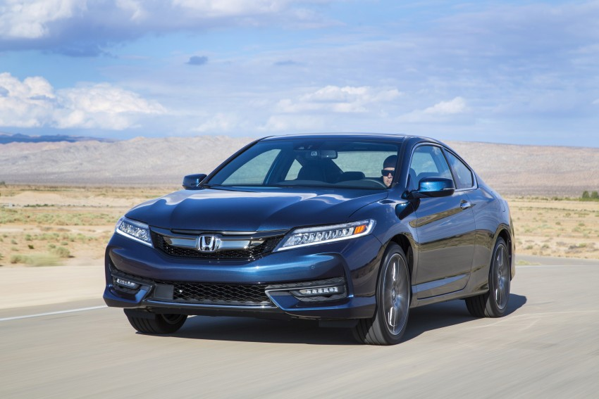 2016 Honda Accord facelift – sedan and coupe models fully revealed in new mega gallery Image #366198