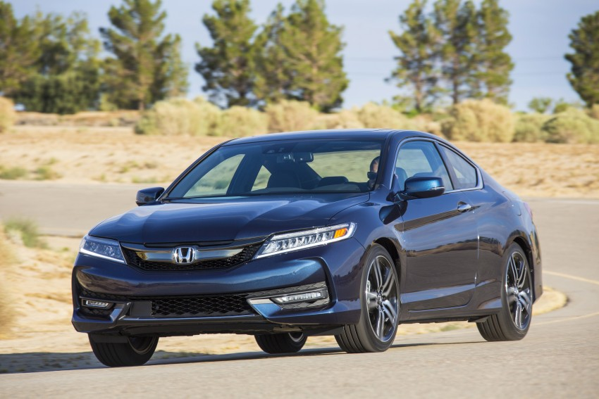 2016 Honda Accord facelift – sedan and coupe models fully revealed in new mega gallery Image #366200