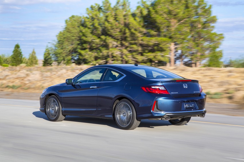2016 Honda Accord facelift – sedan and coupe models fully revealed in new mega gallery Image #366201