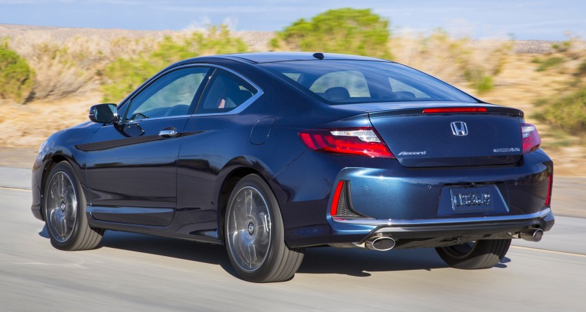 2016 Honda Accord facelift – sedan and coupe models fully revealed in new mega gallery Image #366202