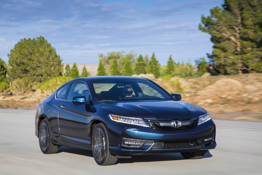 2016 Honda Accord facelift – sedan and coupe models fully revealed in new mega gallery Image #366203