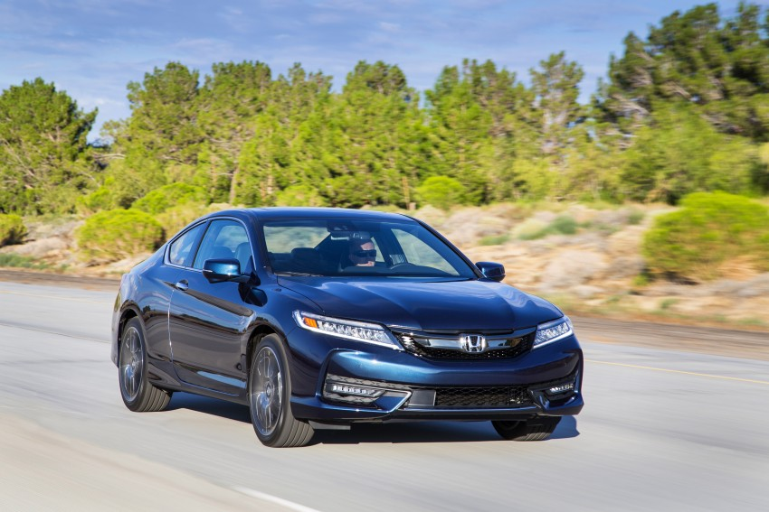 2016 Honda Accord facelift – sedan and coupe models fully revealed in new mega gallery Image #366204