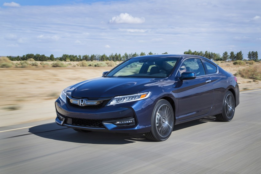 2016 Honda Accord facelift – sedan and coupe models fully revealed in new mega gallery Image #366205