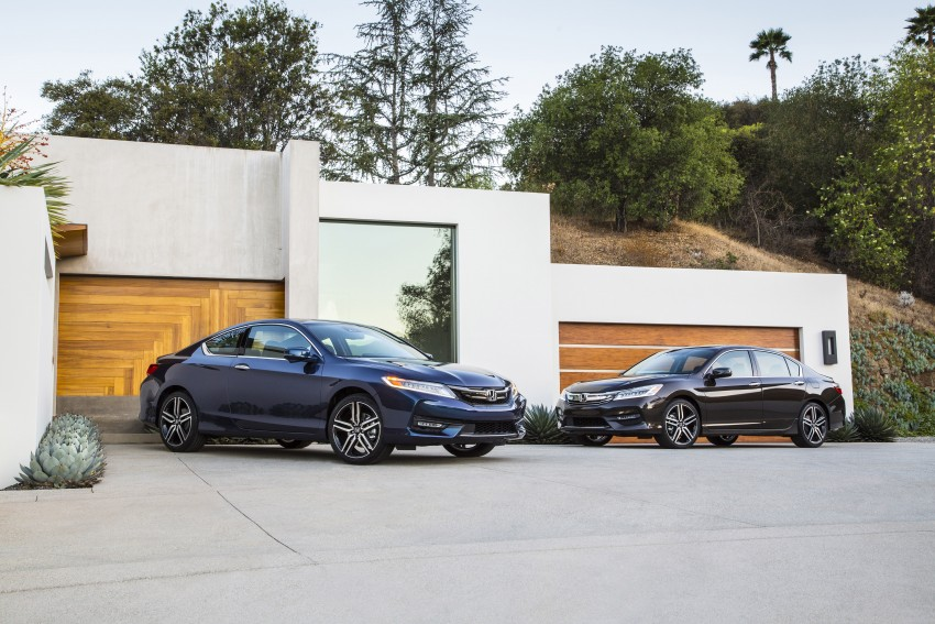 2016 Honda Accord facelift – sedan and coupe models fully revealed in new mega gallery Image #366118
