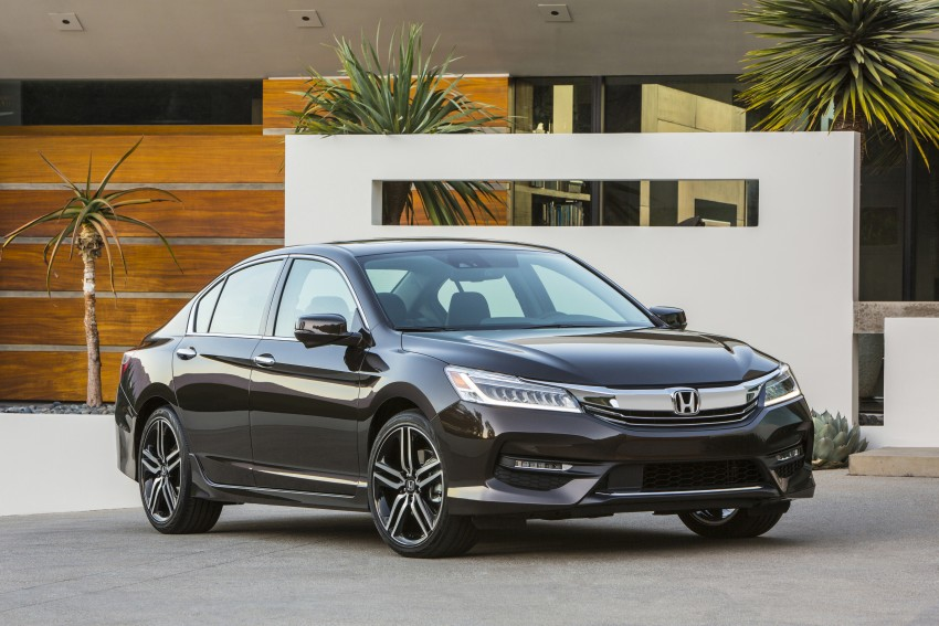 2016 Honda Accord facelift – sedan and coupe models fully revealed in new mega gallery Image #366015