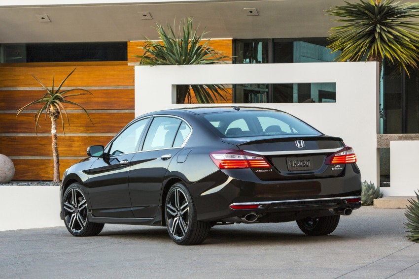 2016 Honda Accord facelift – sedan and coupe models fully revealed in new mega gallery Image #366016