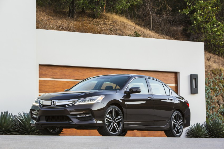 2016 Honda Accord facelift – sedan and coupe models fully revealed in new mega gallery Image #366020