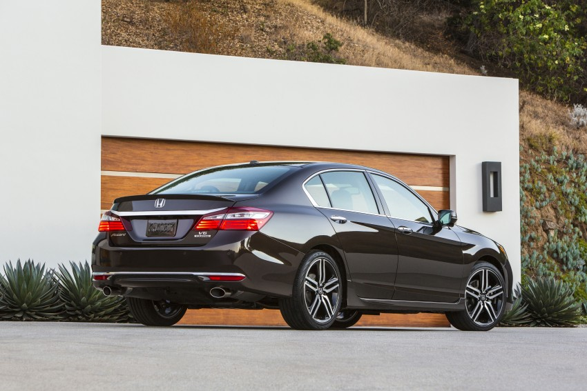 2016 Honda Accord facelift – sedan and coupe models fully revealed in new mega gallery Image #366022