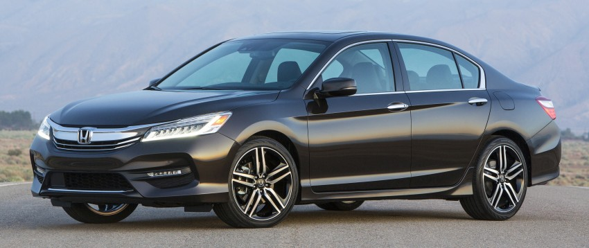 2016 Honda Accord facelift – sedan and coupe models fully revealed in new mega gallery Image #366024