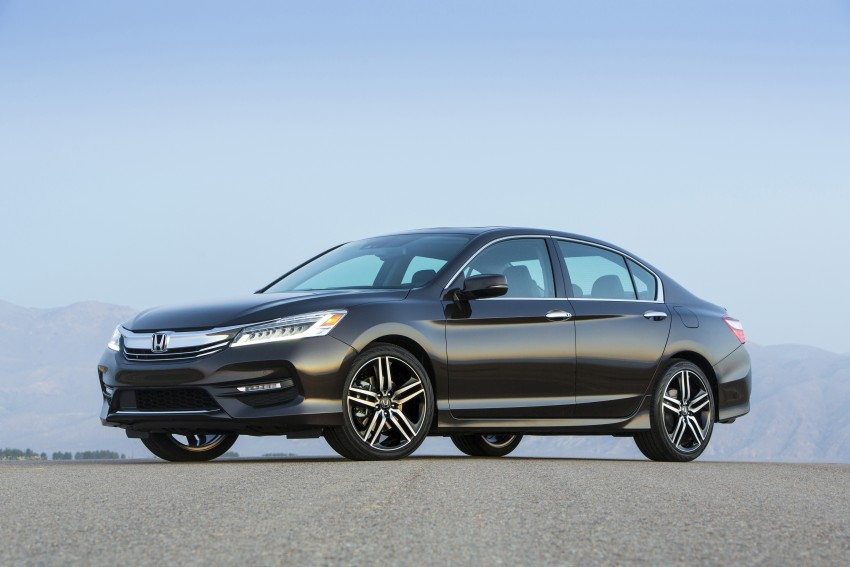 2016 Honda Accord facelift – sedan and coupe models fully revealed in new mega gallery Image #366025