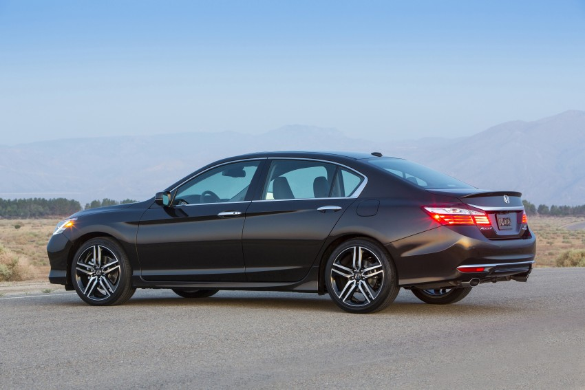 2016 Honda Accord facelift – sedan and coupe models fully revealed in new mega gallery Image #366027
