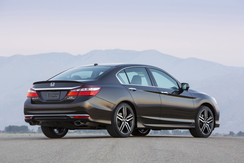 2016 Honda Accord facelift – sedan and coupe models fully revealed in new mega gallery Image #366028
