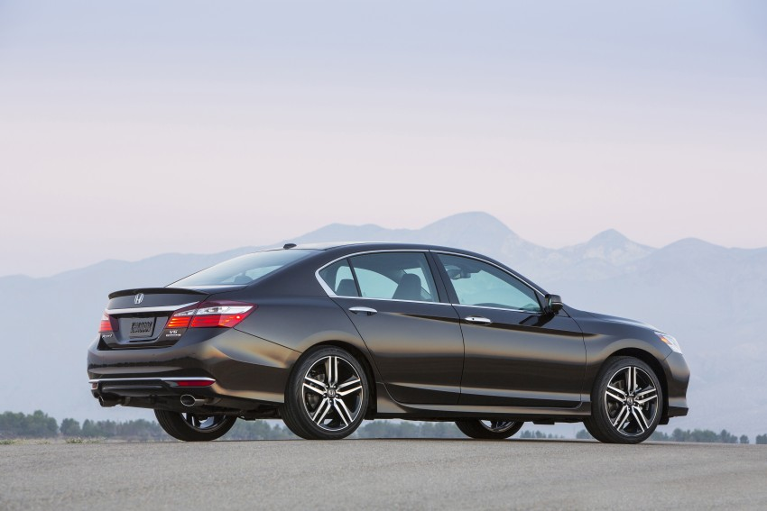 2016 Honda Accord facelift – sedan and coupe models fully revealed in new mega gallery Image #366029
