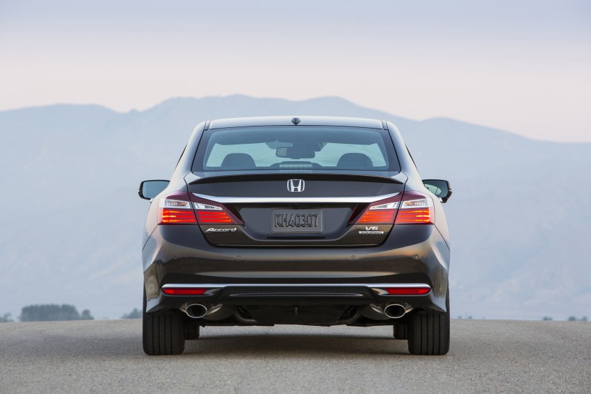 2016 Honda Accord facelift – sedan and coupe models fully revealed in new mega gallery Image #366030