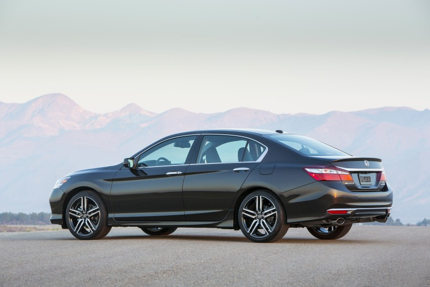 2016 Honda Accord facelift – sedan and coupe models fully revealed in new mega gallery Image #366031