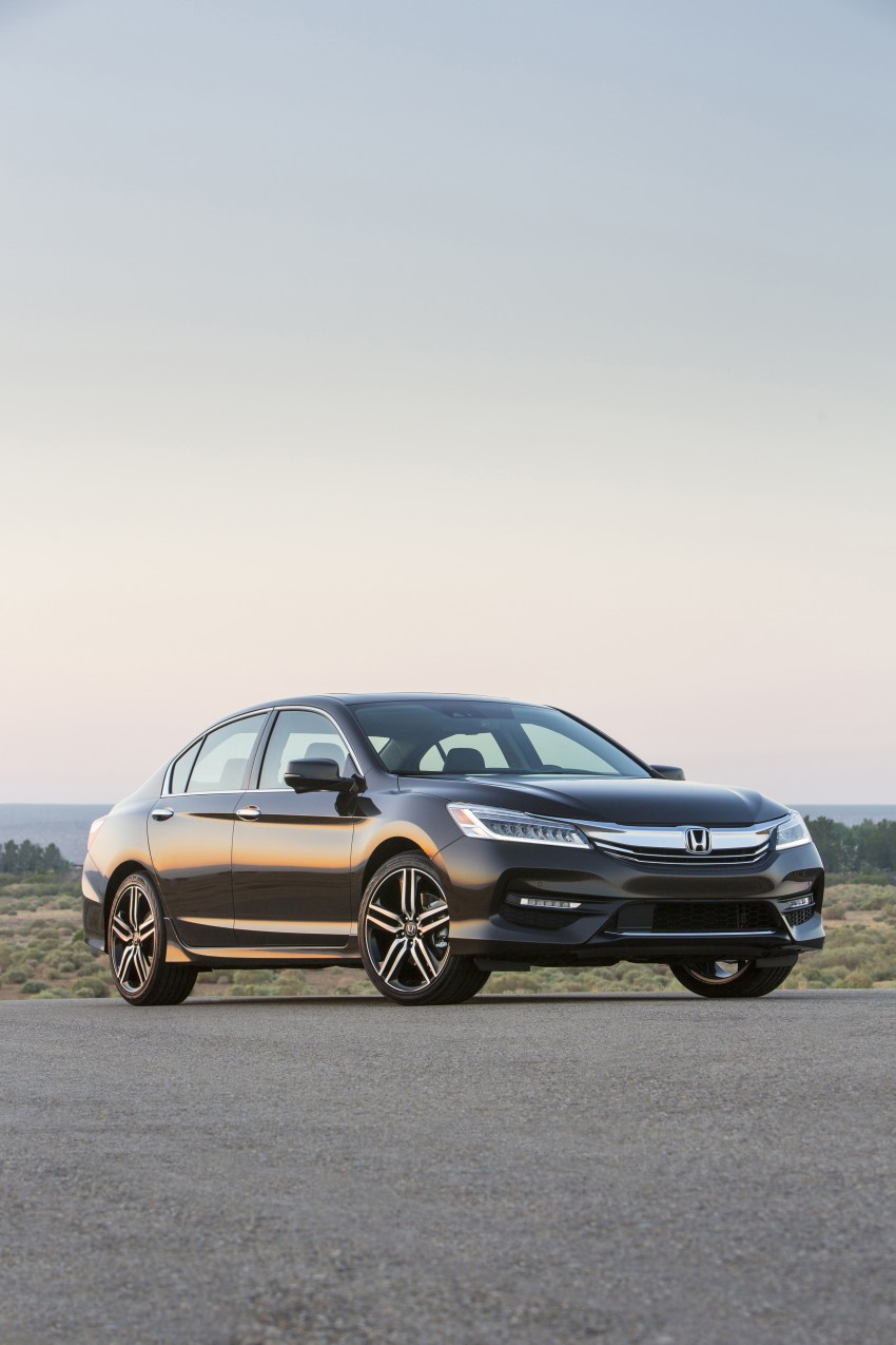 2016 Honda Accord facelift – sedan and coupe models fully revealed in new mega gallery Image #366032