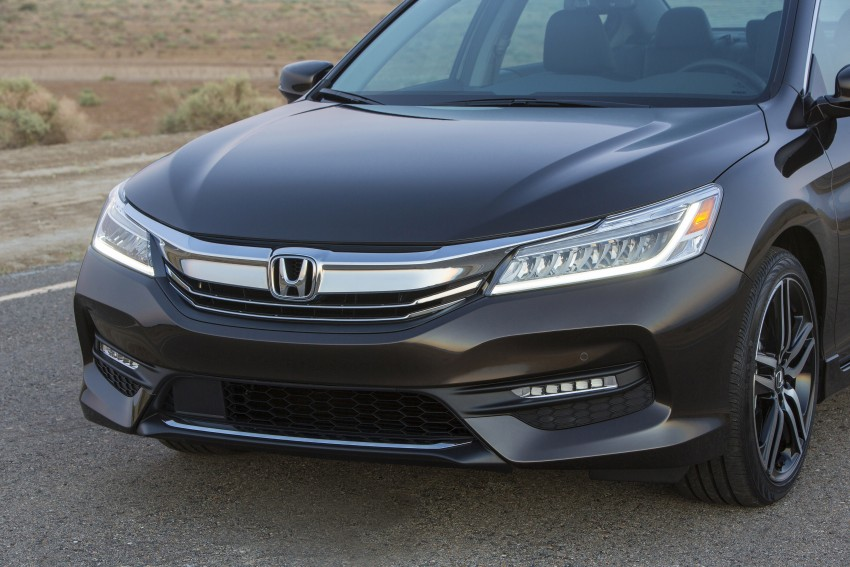 2016 Honda Accord facelift – sedan and coupe models fully revealed in new mega gallery Image #366034