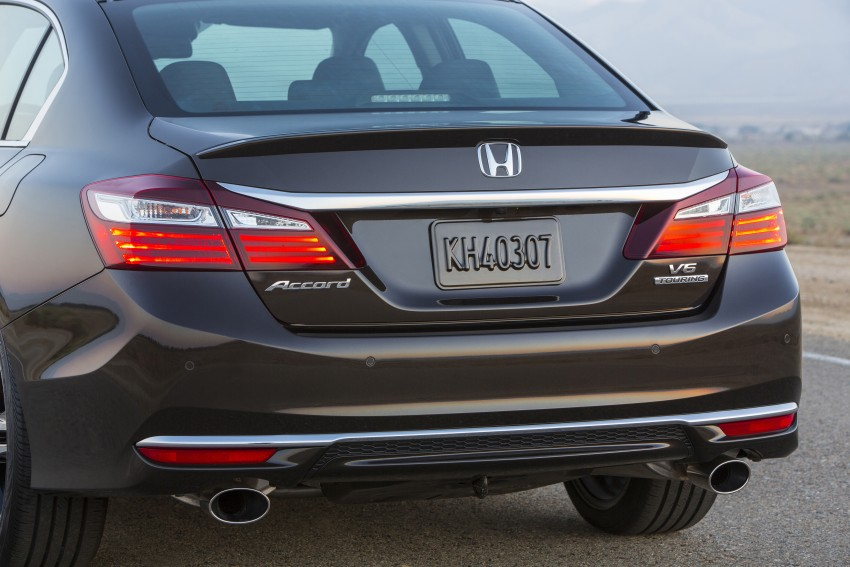 2016 Honda Accord facelift – sedan and coupe models fully revealed in new mega gallery Image #366036