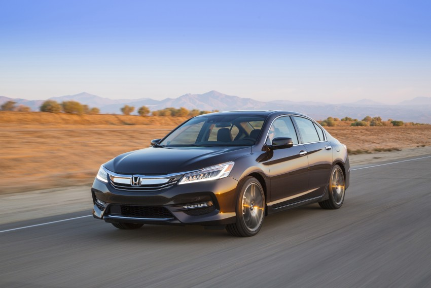 2016 Honda Accord facelift – sedan and coupe models fully revealed in new mega gallery Image #366068