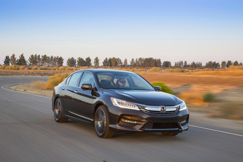 2016 Honda Accord facelift – sedan and coupe models fully revealed in new mega gallery Image #366069